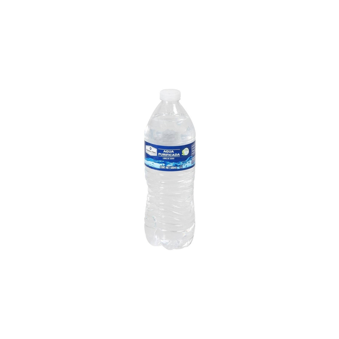 Agua Purif Members Mark 500 Ml