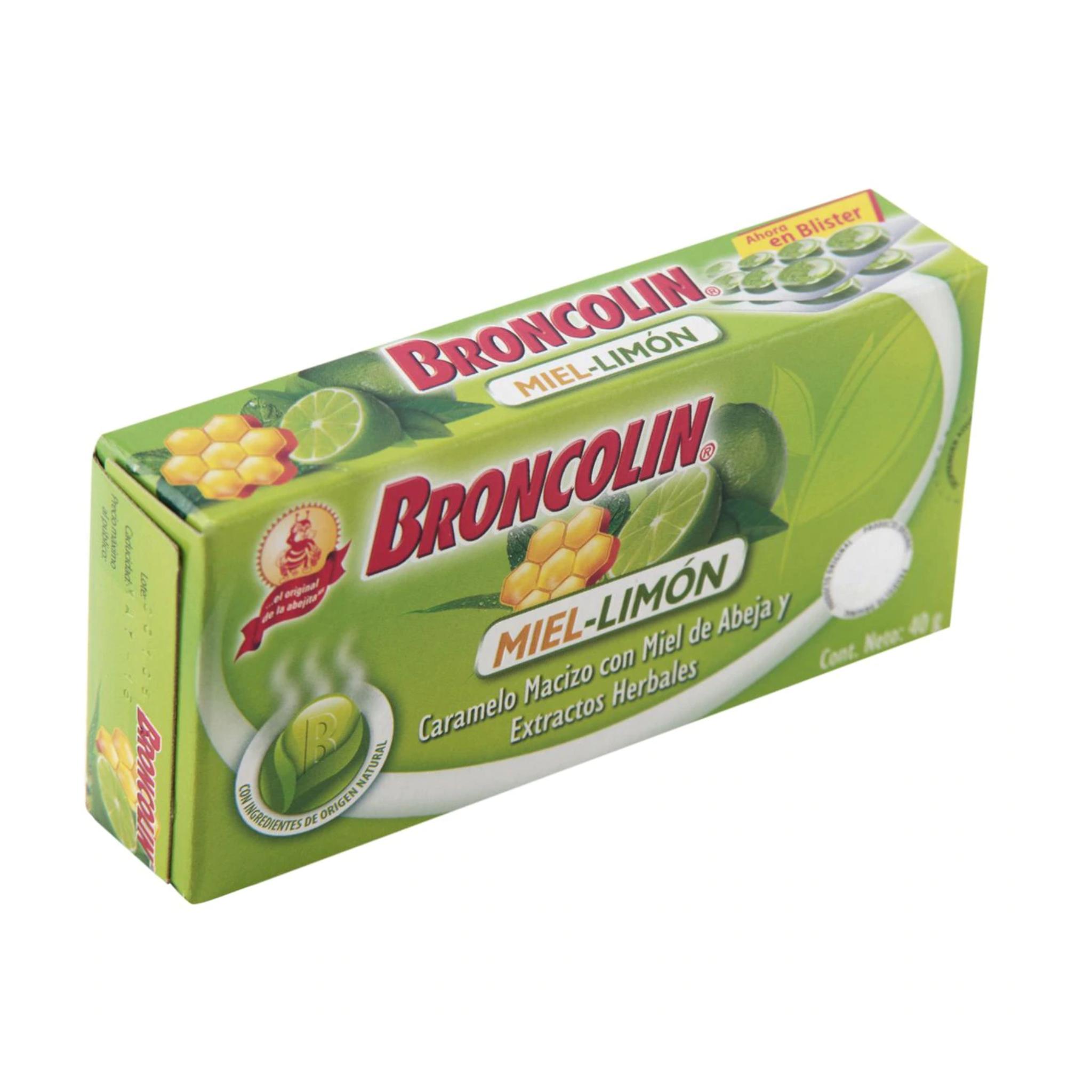 Broncolin Caramelo Macizo 40 G
