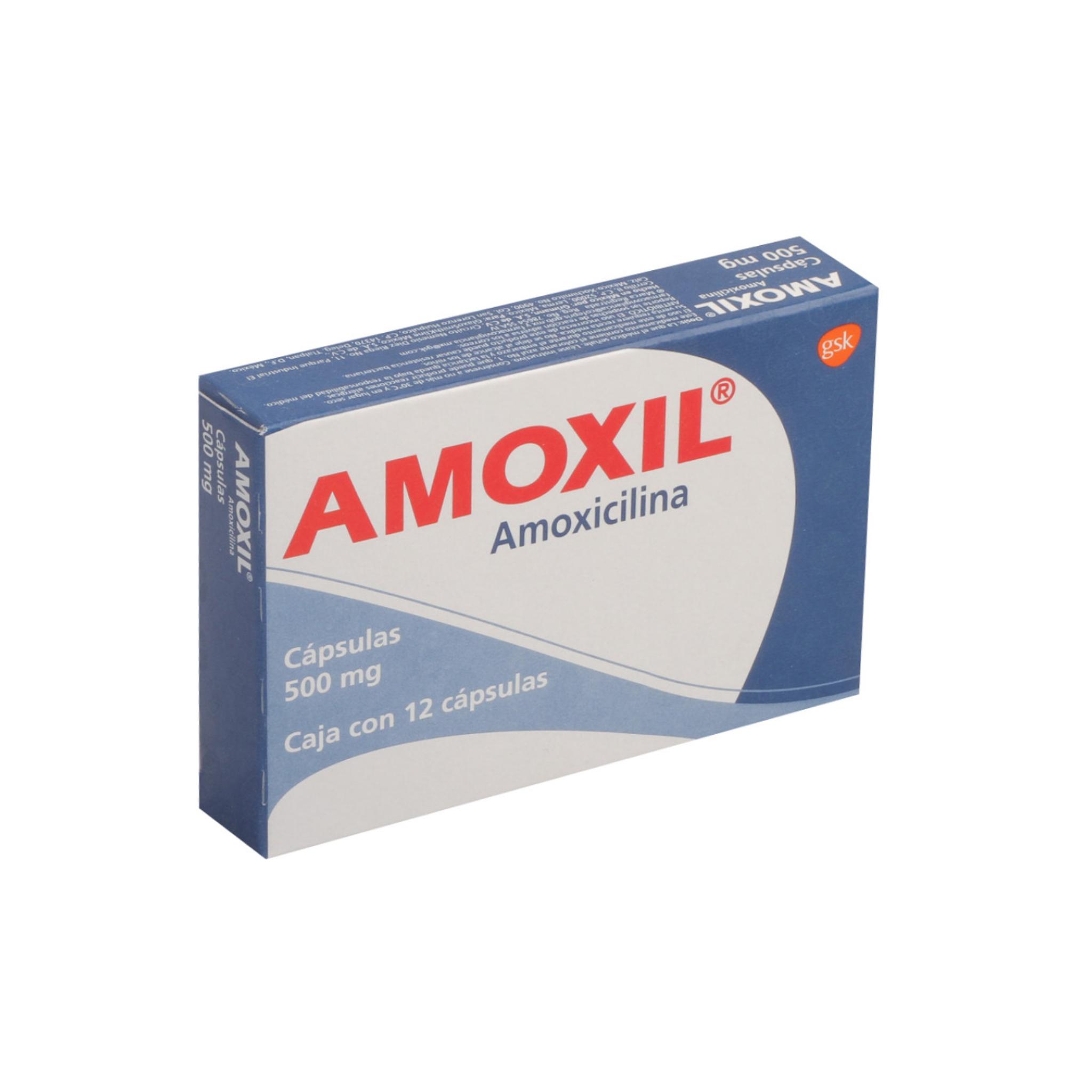 Amoxil 500 Mg C 12 Caps