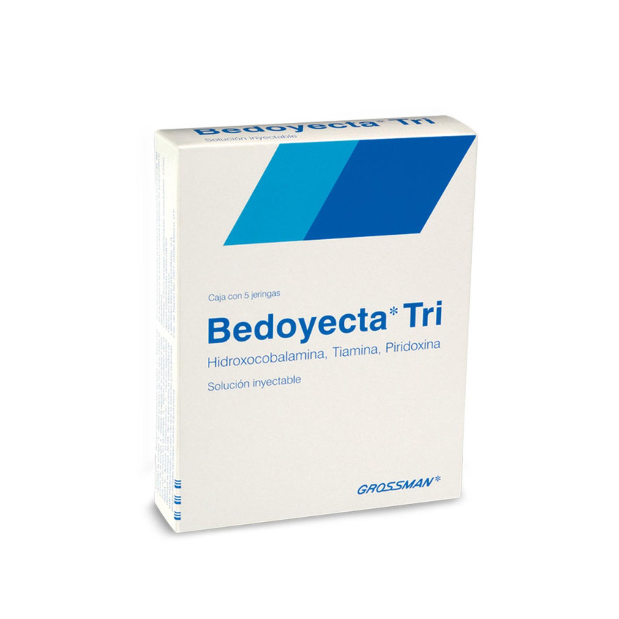 Bedoyecta Tri 2 Ml C/5 Jering