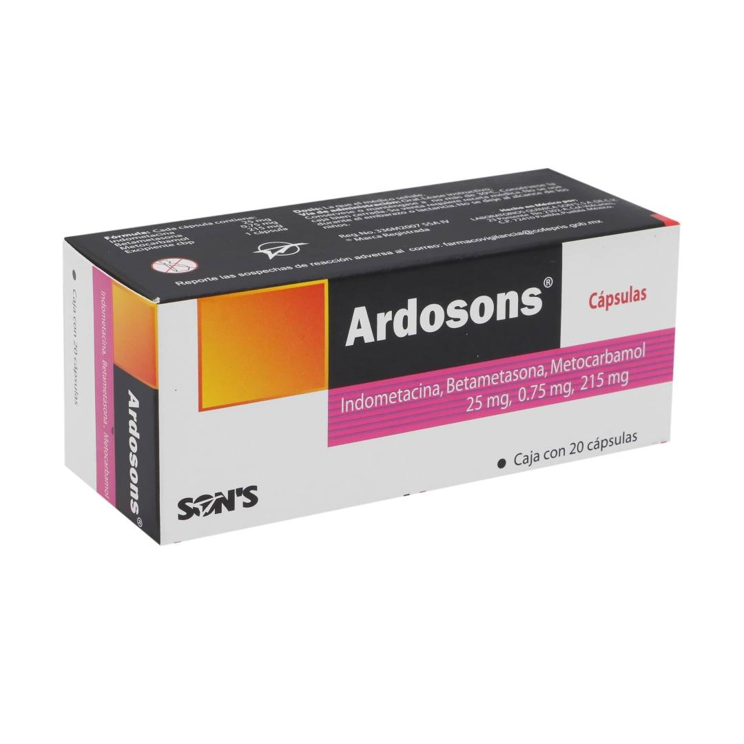Ardosons 215 Mg C/20 Cap  Sons
